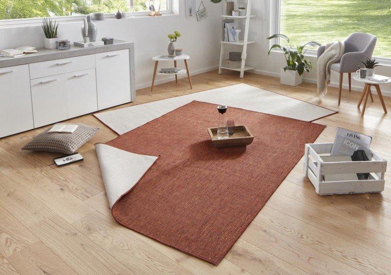 Různobarevný oboustranný kusový koberec běhoun Twin-Wendeteppiche - délka 350 cm a šířka 80 cm