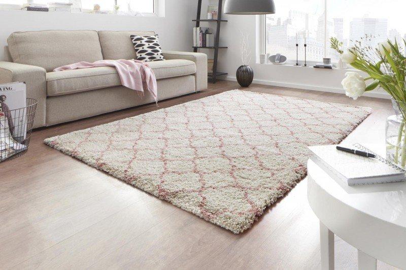 Bytový kusový moderní obdélníkový koberec Grace