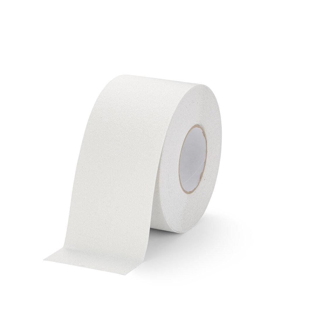 Bílá korundová podlahová páska Marine - 18,3 m x 10 cm