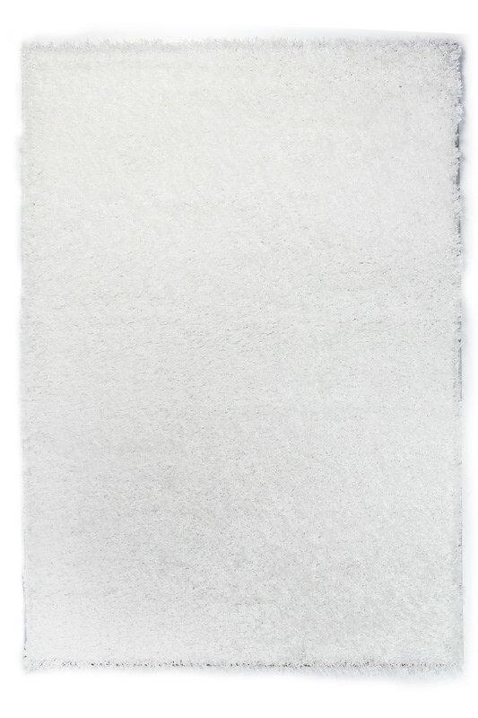 Bílý kusový koberec Bursa - délka 110 cm a šířka 60 cm