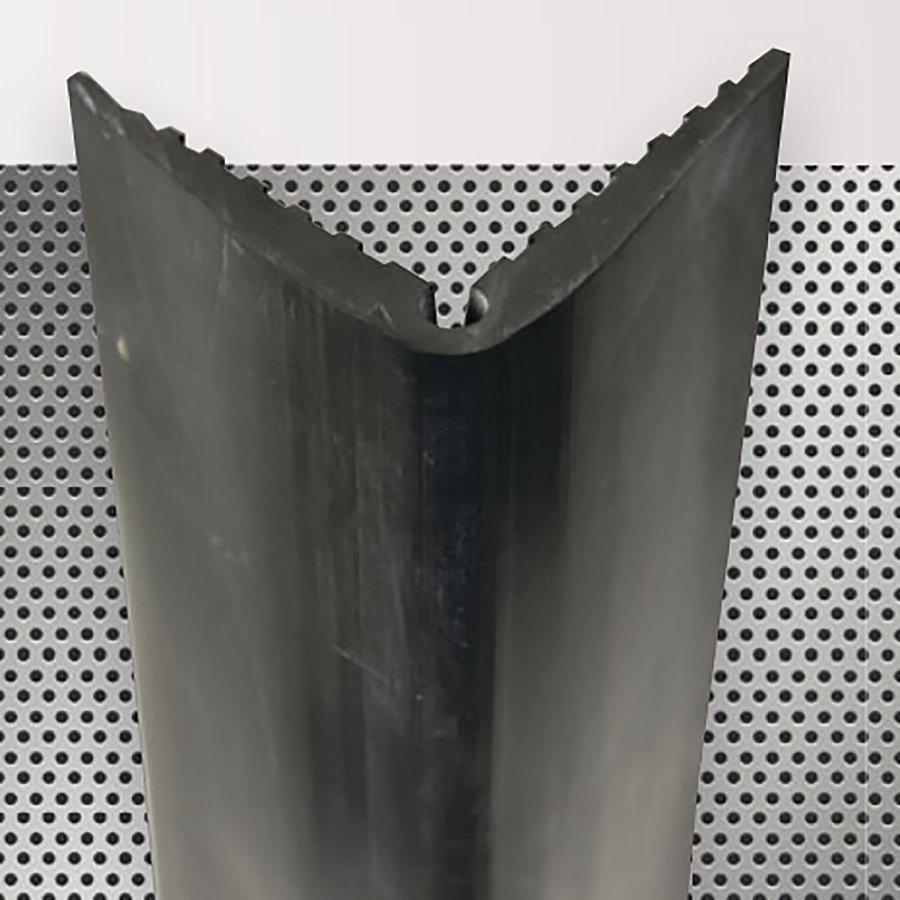 Pryžový roh na ochranu stěn - délka 150 cm, šířka 10 cm a tloušťka 1 cm