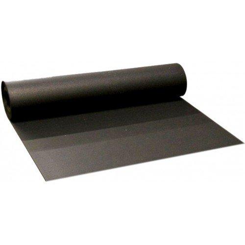Černá pryžová EPDM deska - šířka 120 cm a výška 2 cm