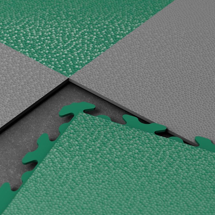 "Černý vinylový plastový nájezd ""typ A"" Invisible Eco 2035 (hadí kůže), Fortelock - délka 46,8 cm, šířka 14,5 cm a výška 0,67 cm"