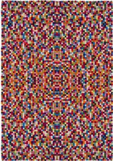 Různobarevný kusový luxusní koberec Passion