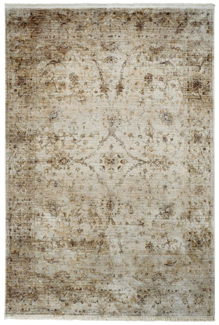 Hnědý kusový moderní koberec Laos - délka 230 cm a šířka 160 cm