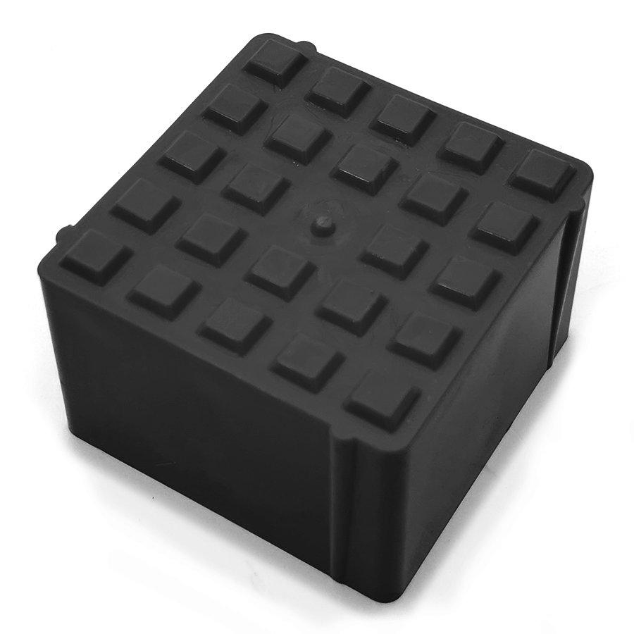 Černý plastový vyznačovací prvek ProGrass MAX, FLOMA - 9,7 x 9,7 x 5,9 cm