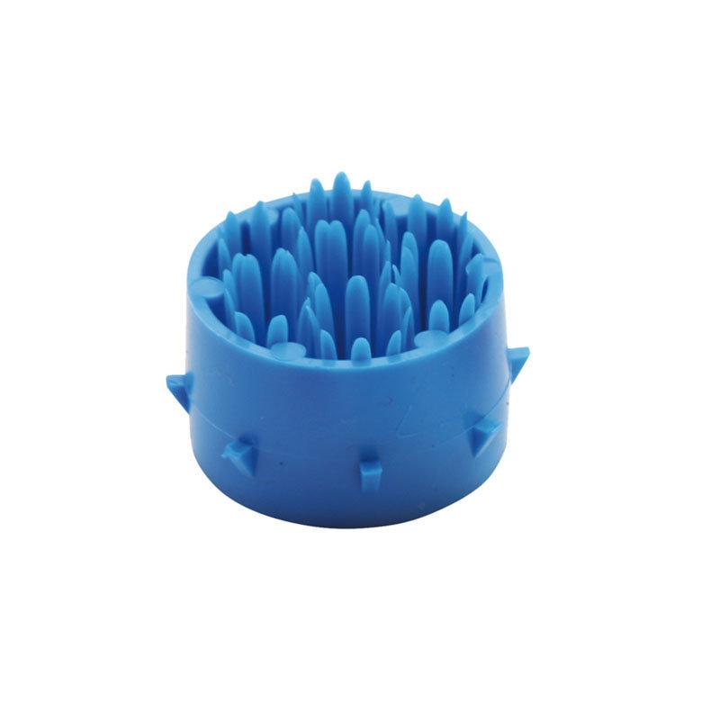 Modrý plastový čistící kartáček pro rohože Octomat, Octomat Elite