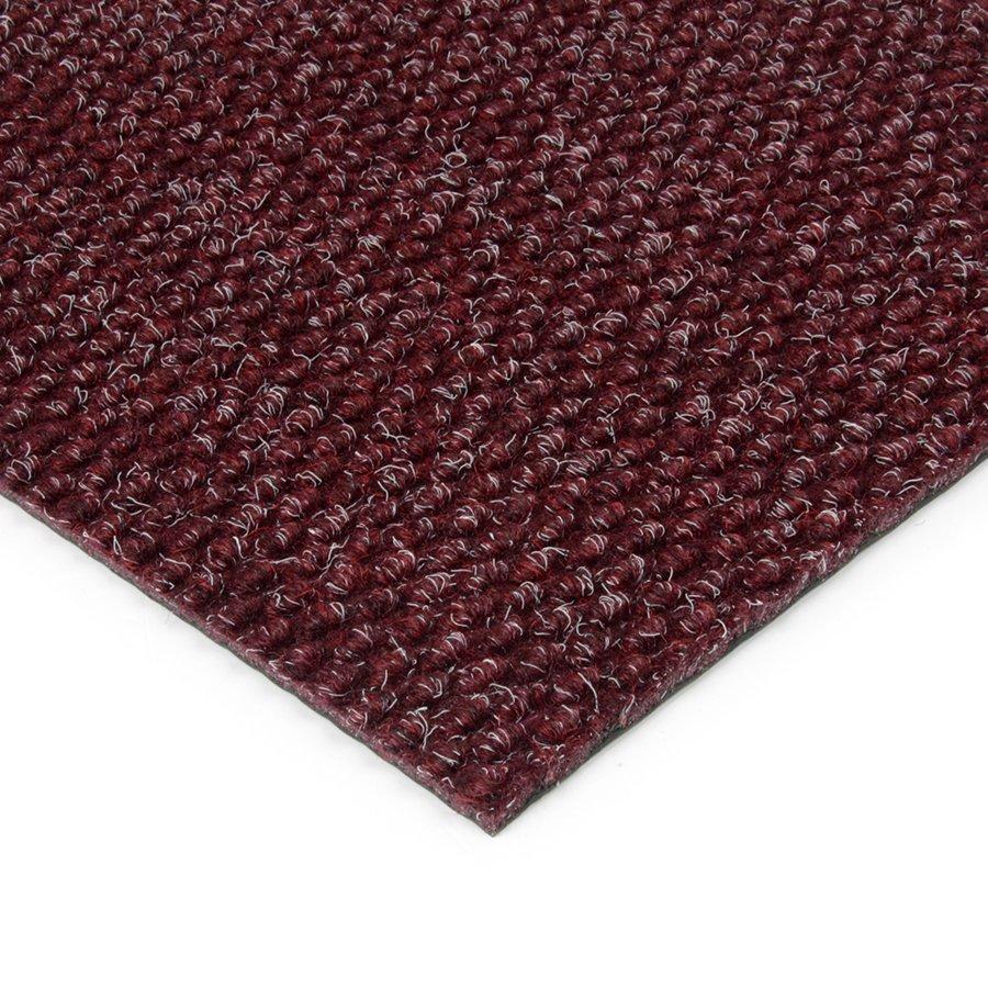 Červená kobercová zátěžová vnitřní čistící zóna Fiona, FLOMAT - výška 1,1 cm