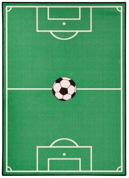 Zelený dětský kusový hrací koberec Luna - délka 290 cm a šířka 200 cm