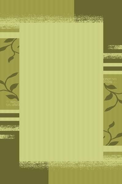 Zelený kusový moderní koberec Camea - délka 150 cm a šířka 80 cm