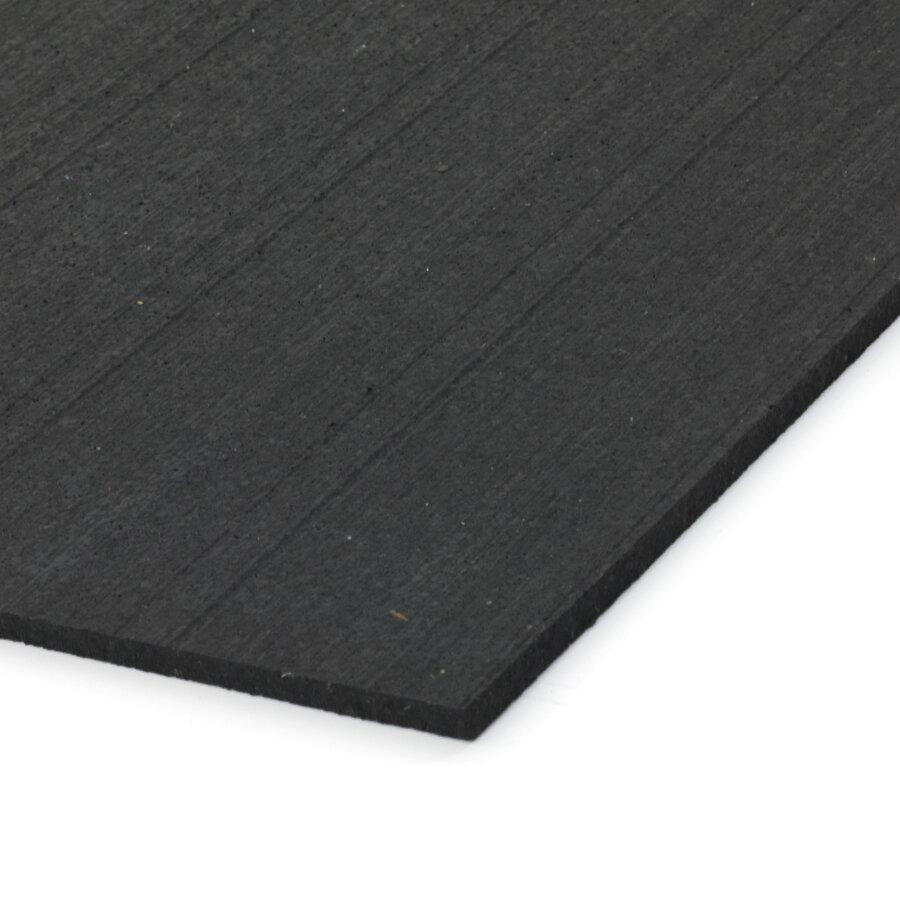 Černá gumová dlažba (deska) FLOMA FitFlo SF1050 - 198 x 98 x 0,8 cm