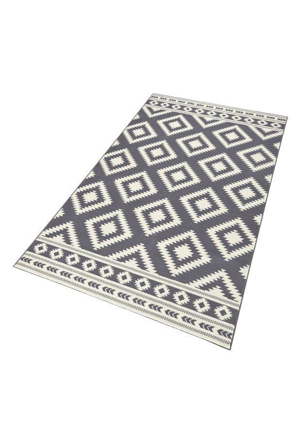 Šedý kusový moderní koberec běhoun Gloria - délka 300 cm a šířka 80 cm