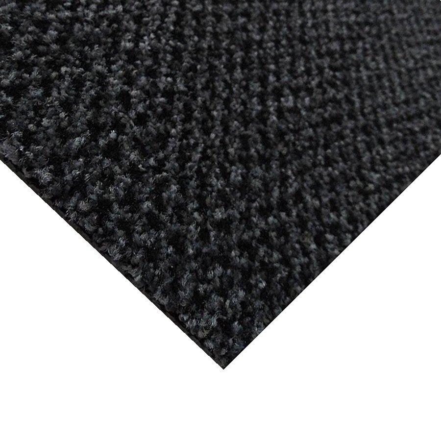 Šedá kobercová vnitřní čistící zóna Alanis, FLOMAT - délka 200 cm a výška 0,75 cm