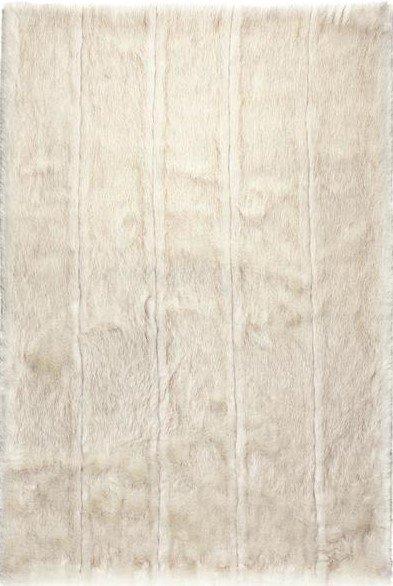 Bílý luxusní kusový koberec Feel - délka 200 cm a šířka 128 cm