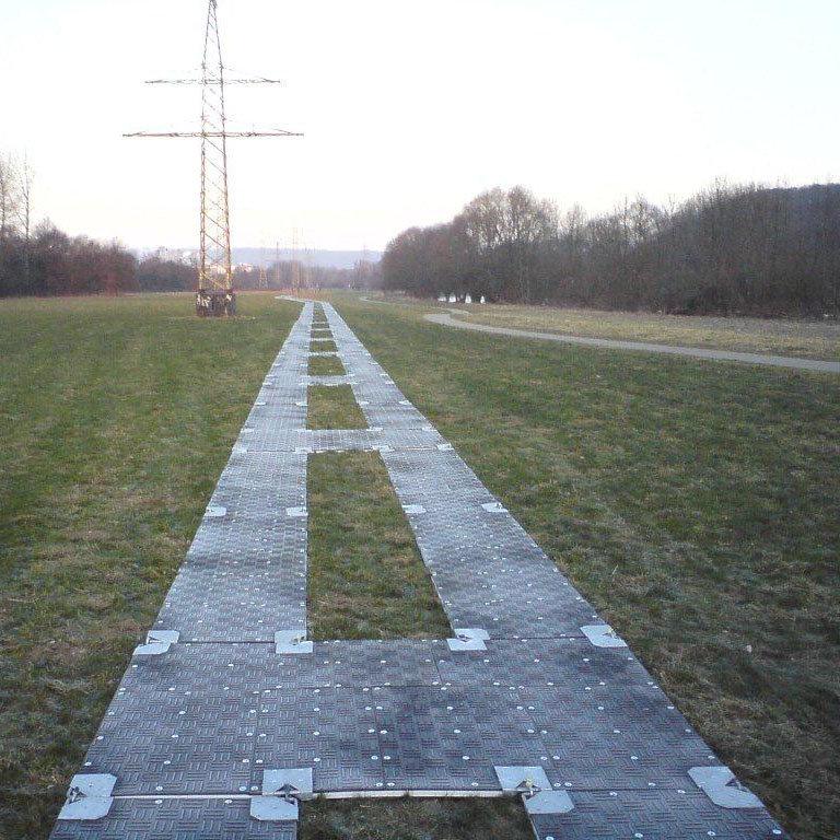 Pontonová terénní deska - délka 300 cm, šířka 100 cm a výška 3,7 cm