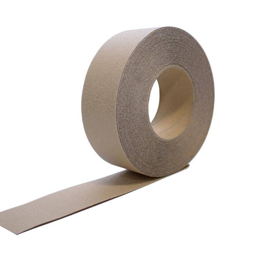Čirá korundová protiskluzová páska - délka 18,3 m a šířka 5 cm
