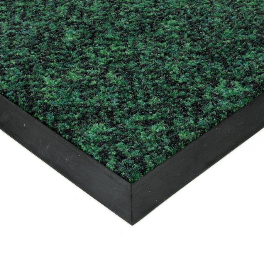 Zelená textilní čistící vnitřní vstupní rohož Cleopatra Extra, FLOMAT - výška 1 cm