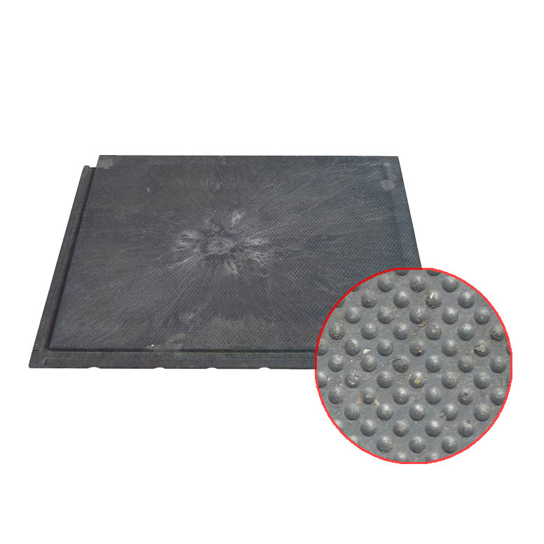 Plastová kuličková podlahová interierová deska - délka 80 cm, šířka 60 cm a výška 2,2 cm
