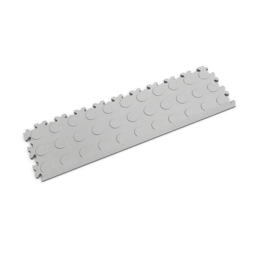 Šedý vinylový plastový nájezd 2045 (penízky), Fortelock - délka 51 cm, šířka 14 cm a výška 0,7 cm