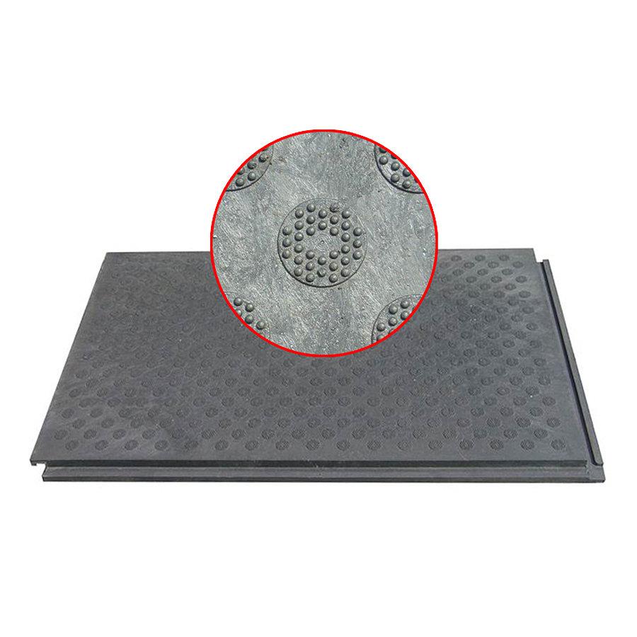 Plastová univerzální podlahová deska - délka 120 cm, šířka 80 cm a výška 4,3 cm