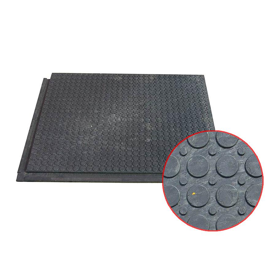 Plastová zesílená plná podlahová interierová deska - délka 80 cm, šířka 60 cm a výška 2,2 cm