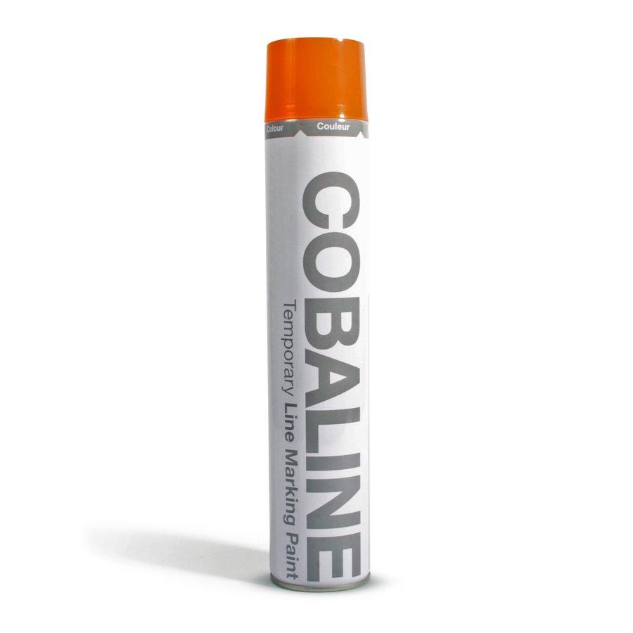 Oranžová krátkodobá rychleschnoucí aerosolová barva - 750 ml (80000270)