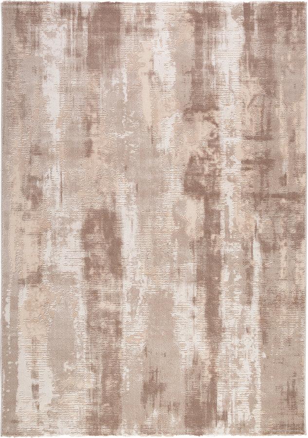 Hnědý kusový moderní koberec Bolero
