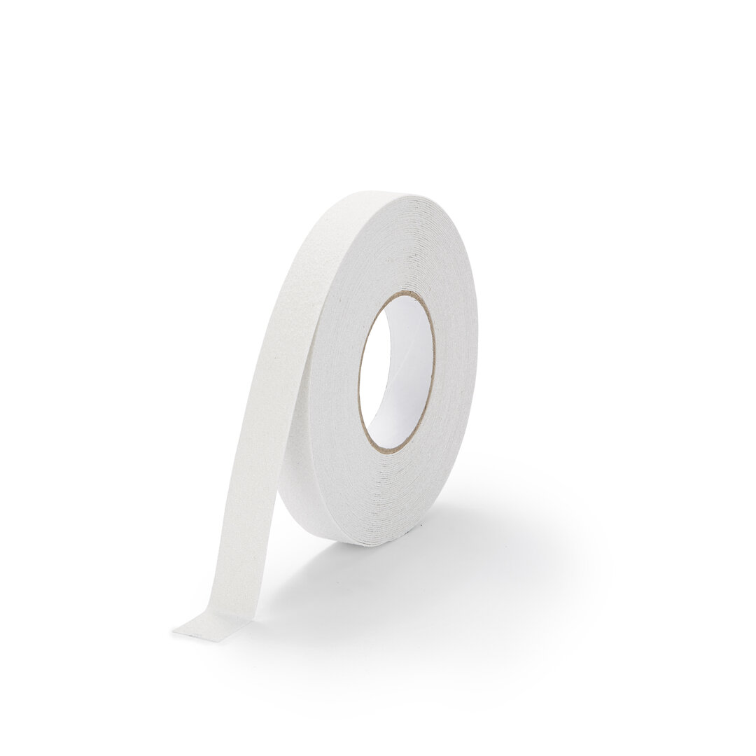 Bílá korundová podlahová páska Marine - 18,3 m x 2,5 cm