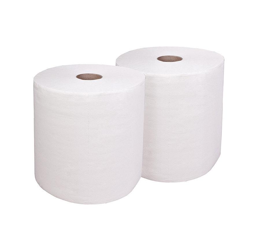 Papírová průmyslová čistící utěrka - délka 26,3 cm a šířka 30 cm - 800 útržků a 2 ks