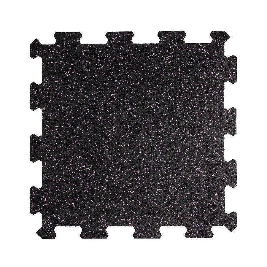 Různobarevná pryžová (10% EPDM STANDARD) modulární fitness deska (střed) SF1050 - délka 47,8 cm, šířka 47,8 cm a výška 0,8 cm