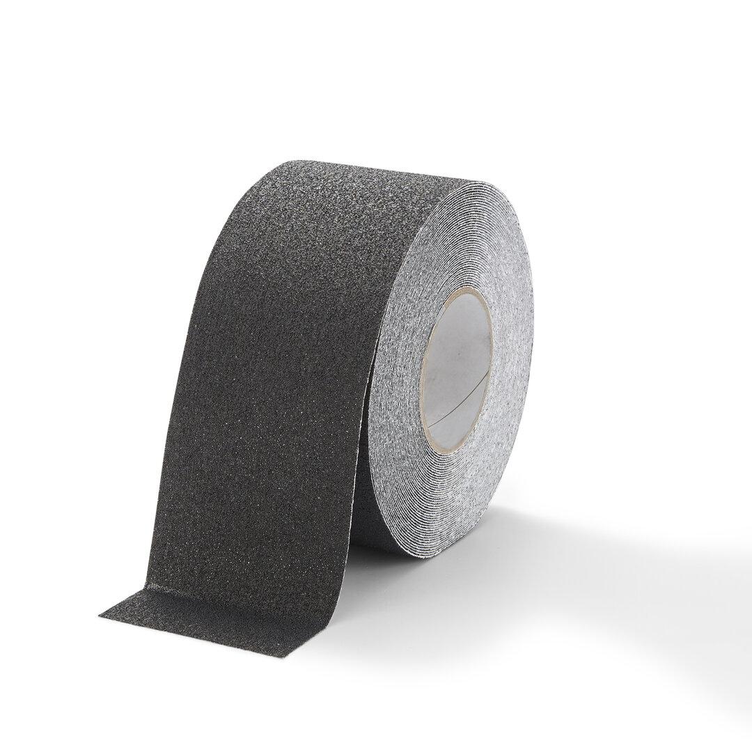 Černá korundová podlahová páska Marine - 18,3 m x 10 cm