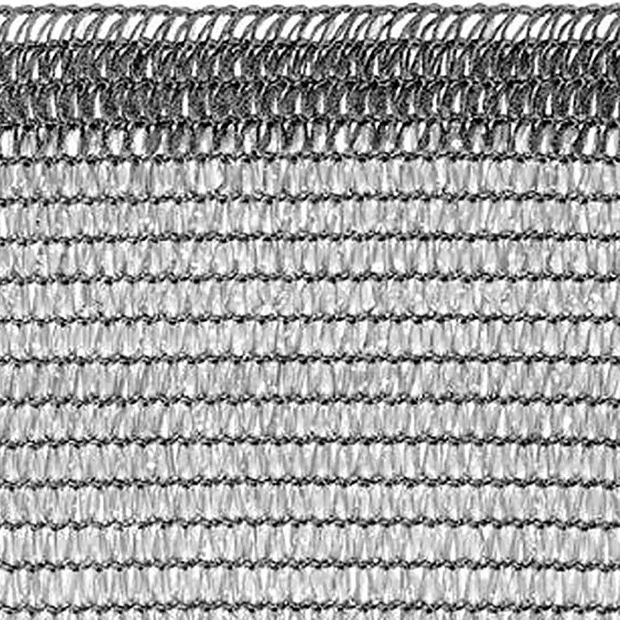 Šedá stínící tkanina na plot Soleado Glam - délka 50 m a výška 1 m