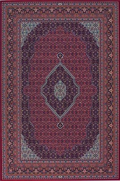 Červeno-modrý kusový orientální koberec Diamond - délka 400 cm a šířka 300 cm