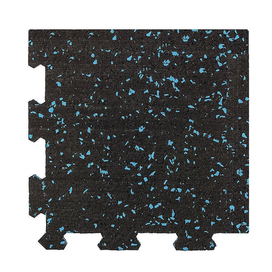 Různobarevná pryžová (10% EPDM PREMIUM) modulární deska (roh) SF1100 - délka 98,6 cm, šířka 98,6 cm a výška 0,8 cm