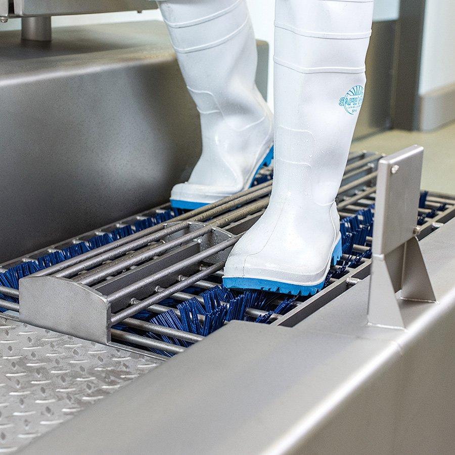 Čistič bot a podrážek obuvi s čističem rukou Neptun HCS1