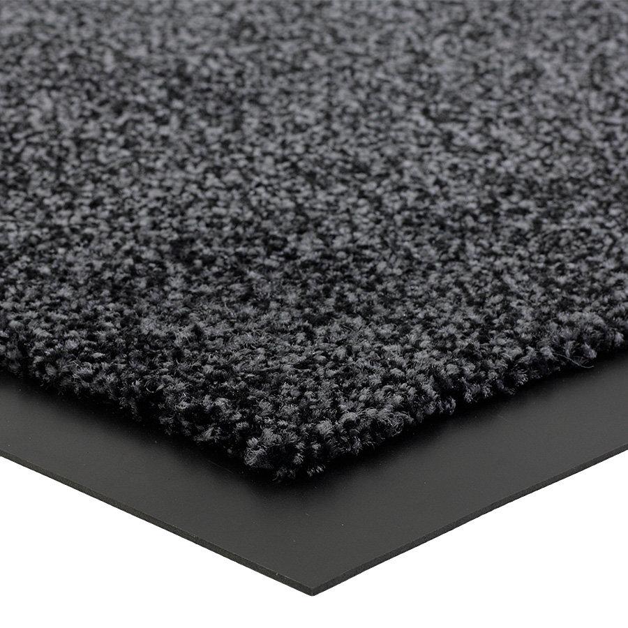 Grafitová čistící vnitřní vstupní rohož Briljant, FLOMA (Bfl-S1) - výška 0,9 cm