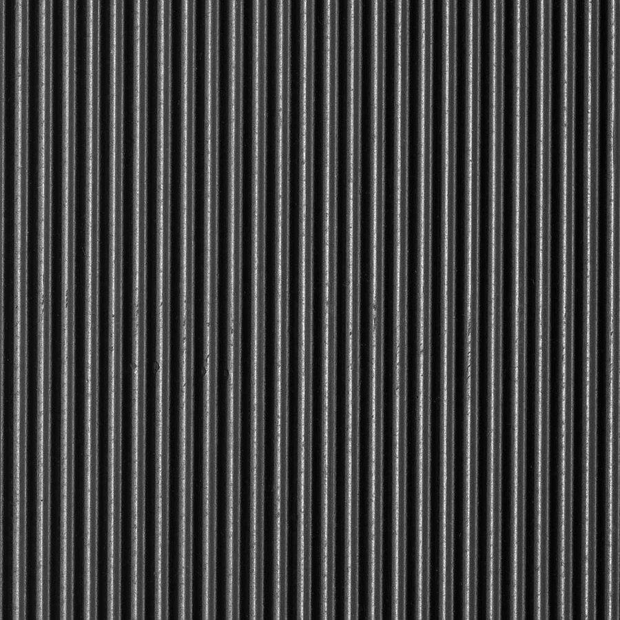 Černá gumová protiskluzová průmyslová rohož - délka 10 m, šířka 100 cm a výška 0,3 cm
