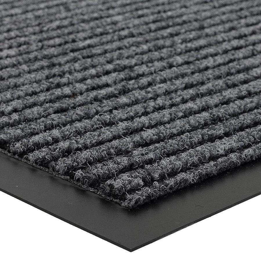 Šedá čistící vnitřní vstupní rohož Everton, FLOMA - výška 0,6 cm