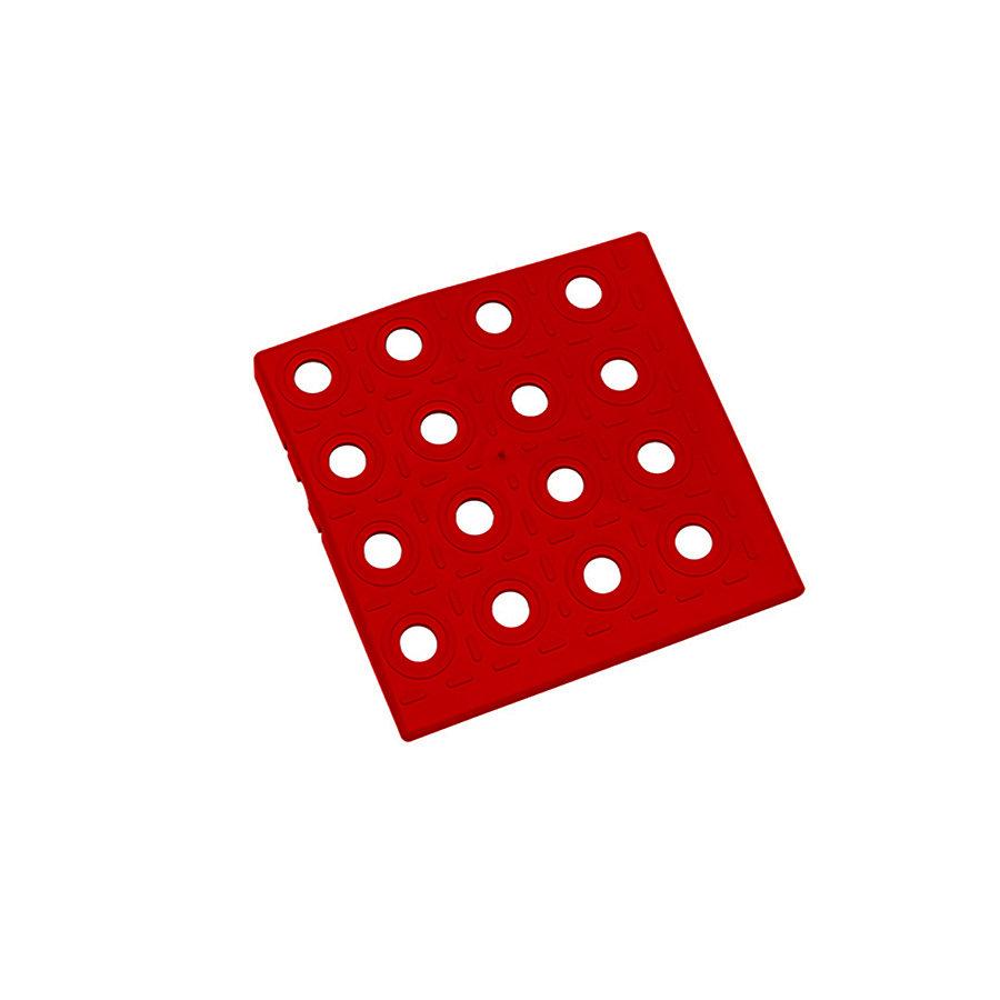 Červený plastový roh AT-HRD, AvaTile - 13,7 x 13,7 x 1,6 cm