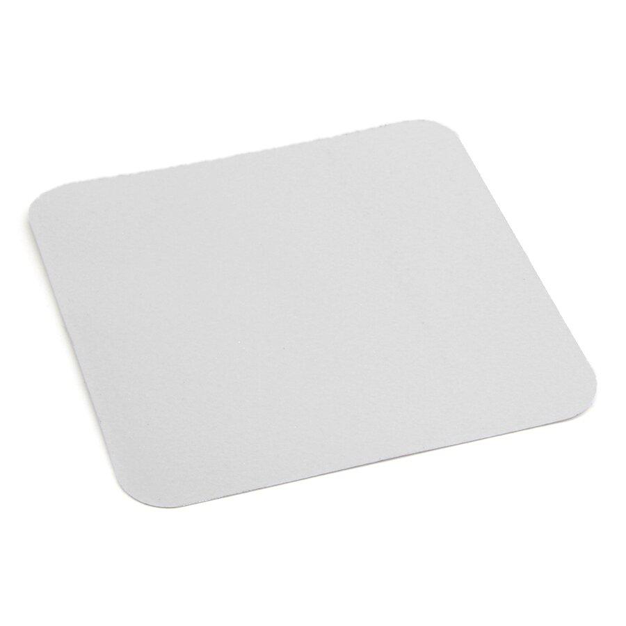 Bílá korundová protiskluzová páska (dlaždice) FLOMA Standard - 14 x 14 cm a tloušťka 0,7 mm