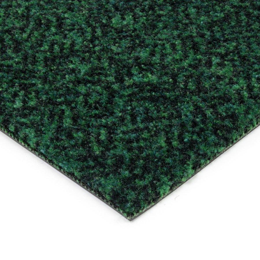 Zelená kobercová vnitřní čistící zóna Cleopatra Extra, FLOMAT - výška 1 cm