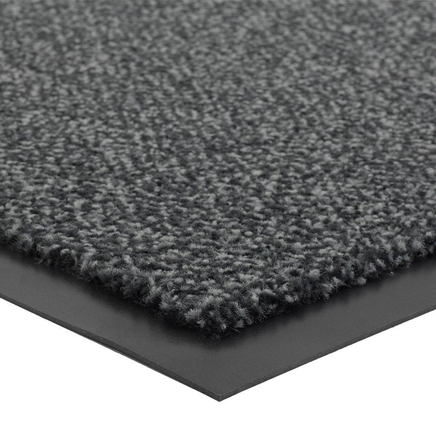 Antracitová vnitřní čistící vstupní rohož FLOMA Portal (Cfl-S1) - délka 135 cm, šířka 200 cm a výška 0,75 cm