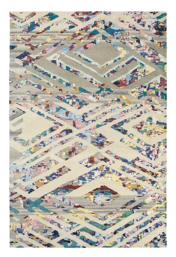 Béžový kusový luxusní moderní koberec Yeti