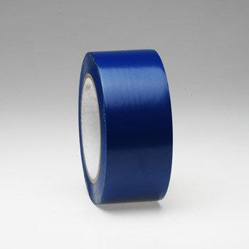 Modrá podlahová vyznačovací páska - délka 33 m a šířka 5 cm
