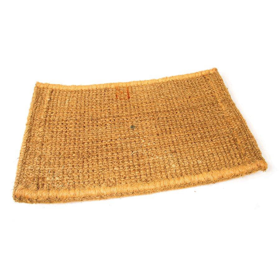 Kokosová vstupní venkovní čistící rohož Bricks - Deco, FLOMA - délka 45 cm, šířka 75 cm a výška 4,7 cm