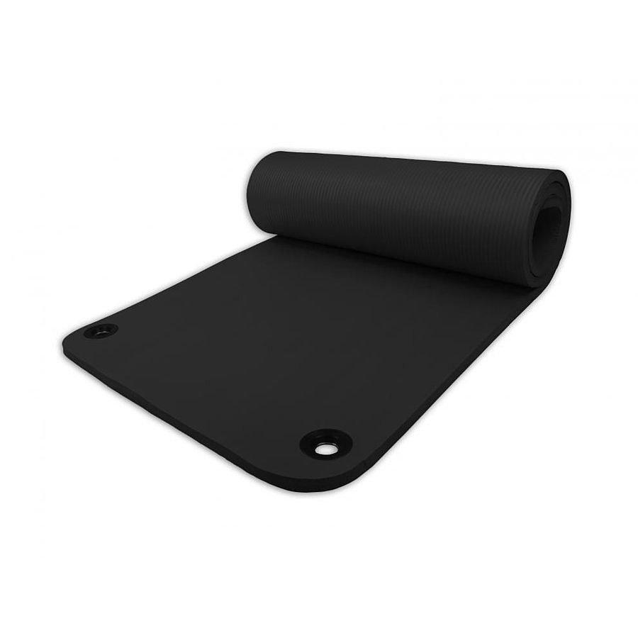 Černá pěnová karimatka na jógu Harmony - délka 180 cm, šířka 60 cm a výška 1,5 cm