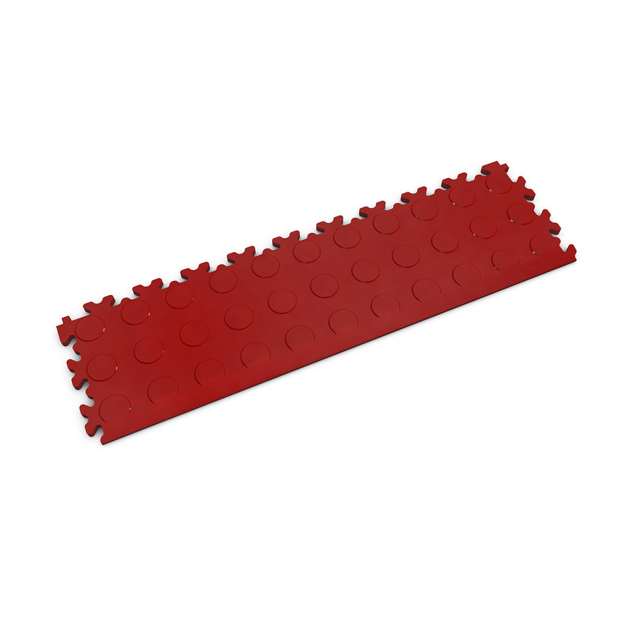 Červený plastový vinylový nájezd 2045 (penízky), Fortelock - délka 51 cm, šířka 14 cm a výška 0,7 cm