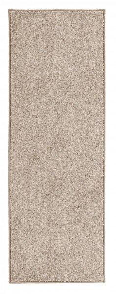 Béžový kusový koberec Pure - délka 400 cm a šířka 80 cm