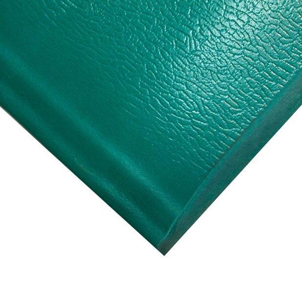 Zelená gumová metrážová průmyslová protiúnavová rohož - šířka 90 cm a výška 1,25 cm