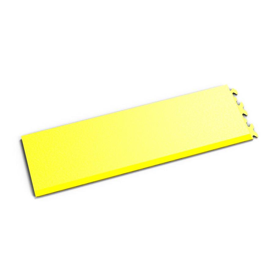 "Žlutý vinylový plastový nájezd ""typ A"" Invisible 2035 (hadí kůže), Fortelock - délka 46,8 cm, šířka 14,5 cm a výška 0,67 cm"